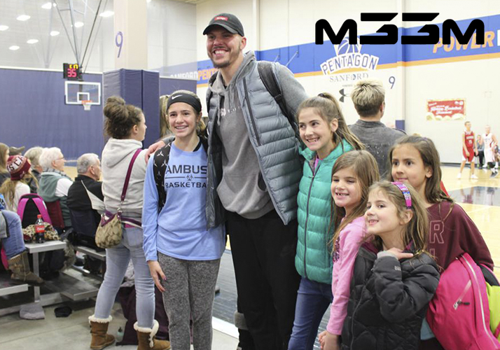 mike miller with kids